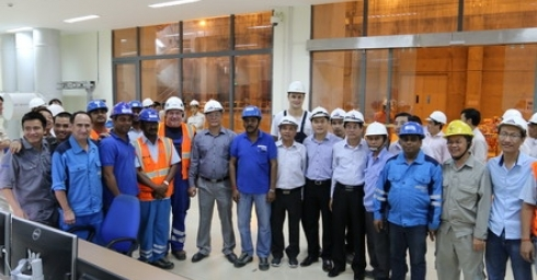 UNIT 2 OF XEKAMAN 1 HYDROPOWER PLANT SUCCESSFULLY JOINS VIETNAM'S GRID