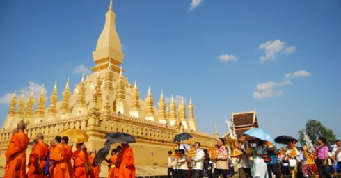 BunThat Luổng - Lễ hội văn hóa truyền thống của Lào