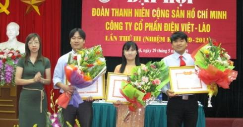 Đại hội đoàn TNCS HỒ CHÍ MINH Công ty cổ phần điện Việt Lào Lần thứ III, nhiệm kỳ 2009 - 2011