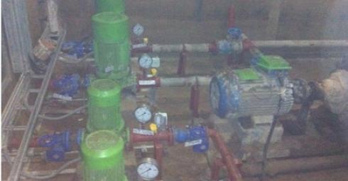 Chạy thử nghiệm hệ thống nước tháo cạn thủy điện Xekaman 3
