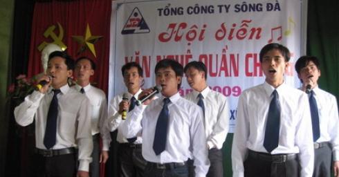 Tháng thanh niên trên công trường thuỷ điện Xekaman 3