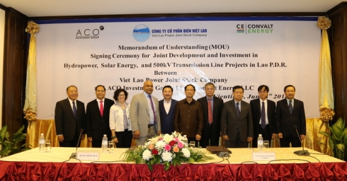 VIETLAOPOWER SIGNS INVESTMENT COOPERATION MOU WITH ACO INVESTMENT GROUP