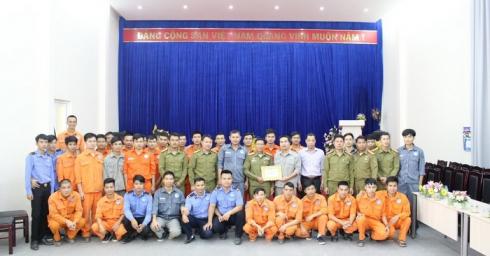HUẤN LUYỆN NGHIỆP VỤ PCCC ĐỊNH KỲ NĂM 2018 TẠI CÔNG TY TNHH ĐIỆN XEKAMAN 1