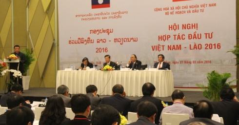 Công ty CP điện Việt Lào tham dự hội nghị hợp tác đầu tư Việt Nam - Lào 2016