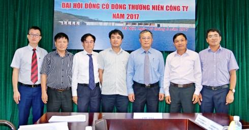 Đại hội đồng cổ đông thường niên công ty cổ phần điện Việt Lào năm 2017