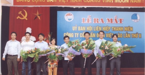 Hội LHTN Việt Nam Công ty cổ phần điện Việt - Lào - hướng đi mới trong hoạt động