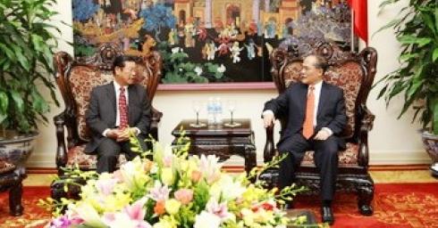 Việt Nam - Lào ưu tiên hợp tác phát triển nguồn nhân lực