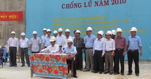 Chùm ành 'Tinh thần Quốc tế lao động trên công trường thủy điện Xekaman 1'