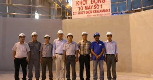 230KV TRANSMISSION LINE AND UNIT 1 OF XEKAMAN 1 HPP STARTED SUCCESSFULLY