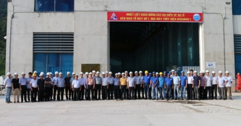 UNIT 1 OF XEKAMAN1 HYDROPOWER PLANT HANDED OVER