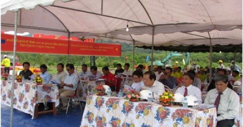 Lễ khởi công xây dựng khu tái định cư Houy Doum Dự án thủy điện XEKAMAN 1