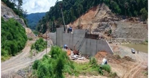 Lễ ngăn sông dẫn dòng thi công giai đoạn 2 công trình thủy điện XEKAMAN XANXAY - Dự án thủy điện XEKAMAN1